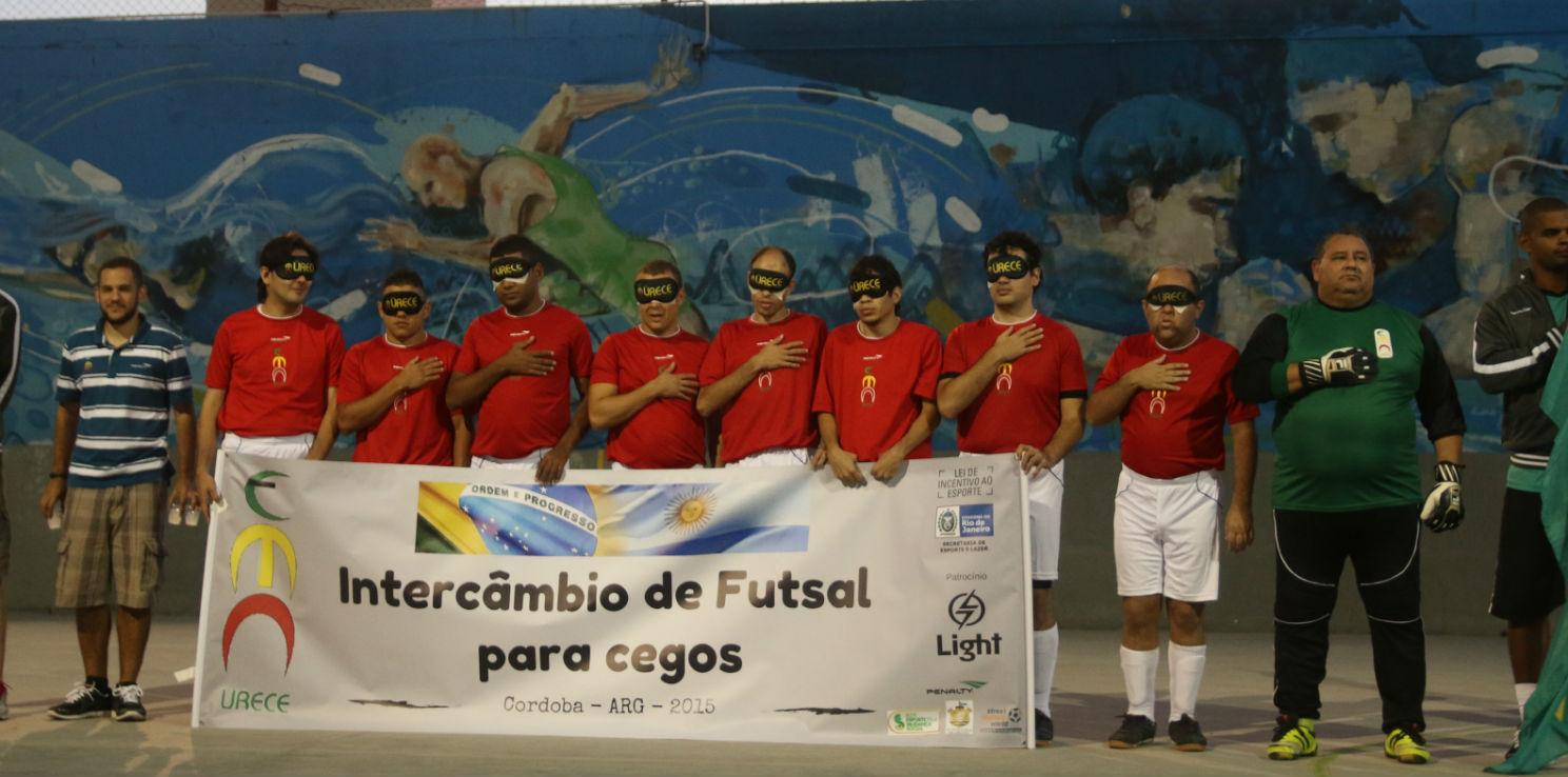 Atletas do Urece no Futsal