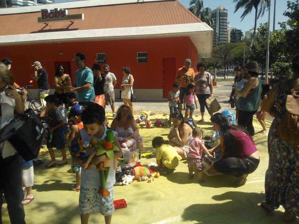 Feira de brinquedos/ Divulgacao