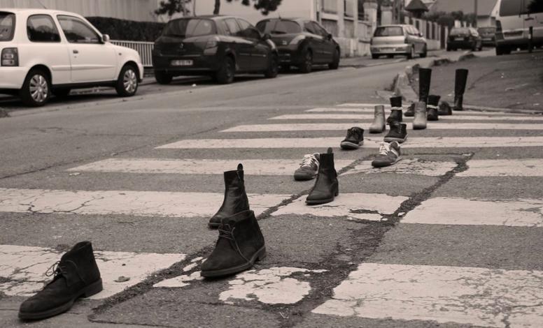 Sapatos da União dos Estudantes Franceses