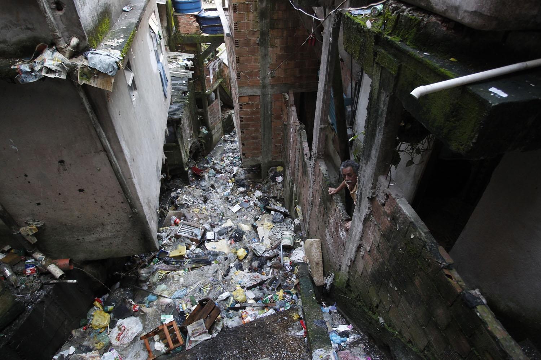 Mesmo nos melhores anos para o saneamento, 2007 a 2014, em que houve apoio do governo federal, pouco avançamos na área de saneamento. Foto de Custódio Coimbra