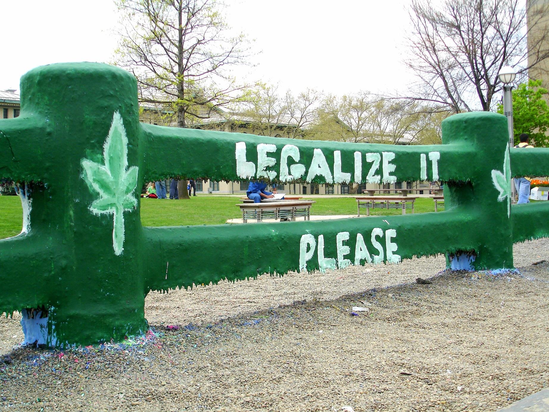 No ano eleitoral de 2016, ou seja, daqui a poucos dias, começará a campanha pela legalização da maconha para fins recreativos em seis estados americanos