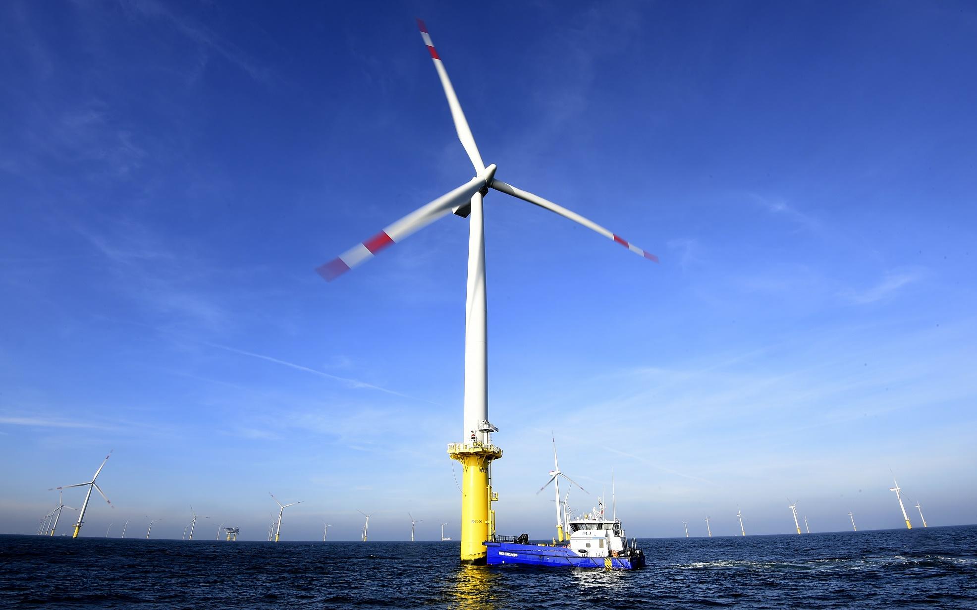 O crescimento das fontes renováveis de energia seria uma das razões da estabilização das emissões de carbono