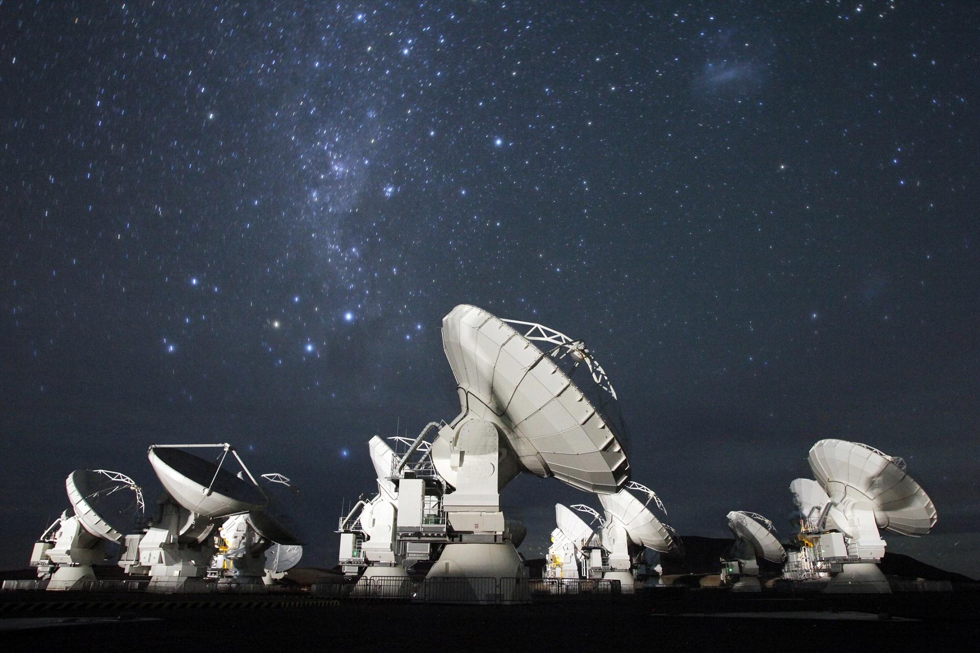 O projeto Sonidos de ALMA – a sigla vem de Atacama Large Millimiter Array, é a maior rede de telescópios do mundo