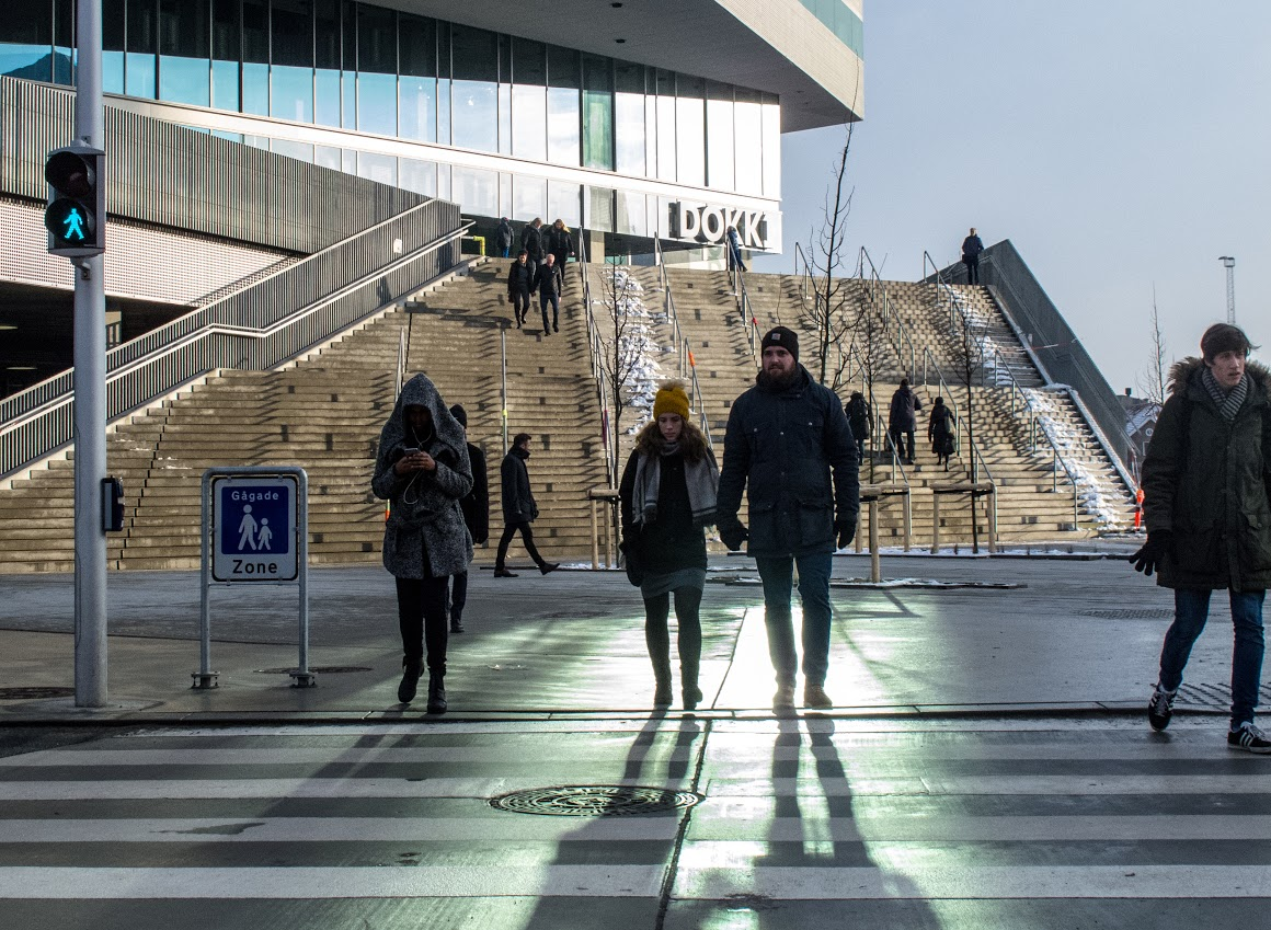 O Dokk1 é a mais nova biblioteca de Aarhus, na Dinamarca e, atualmente, a maior da Escandinávia