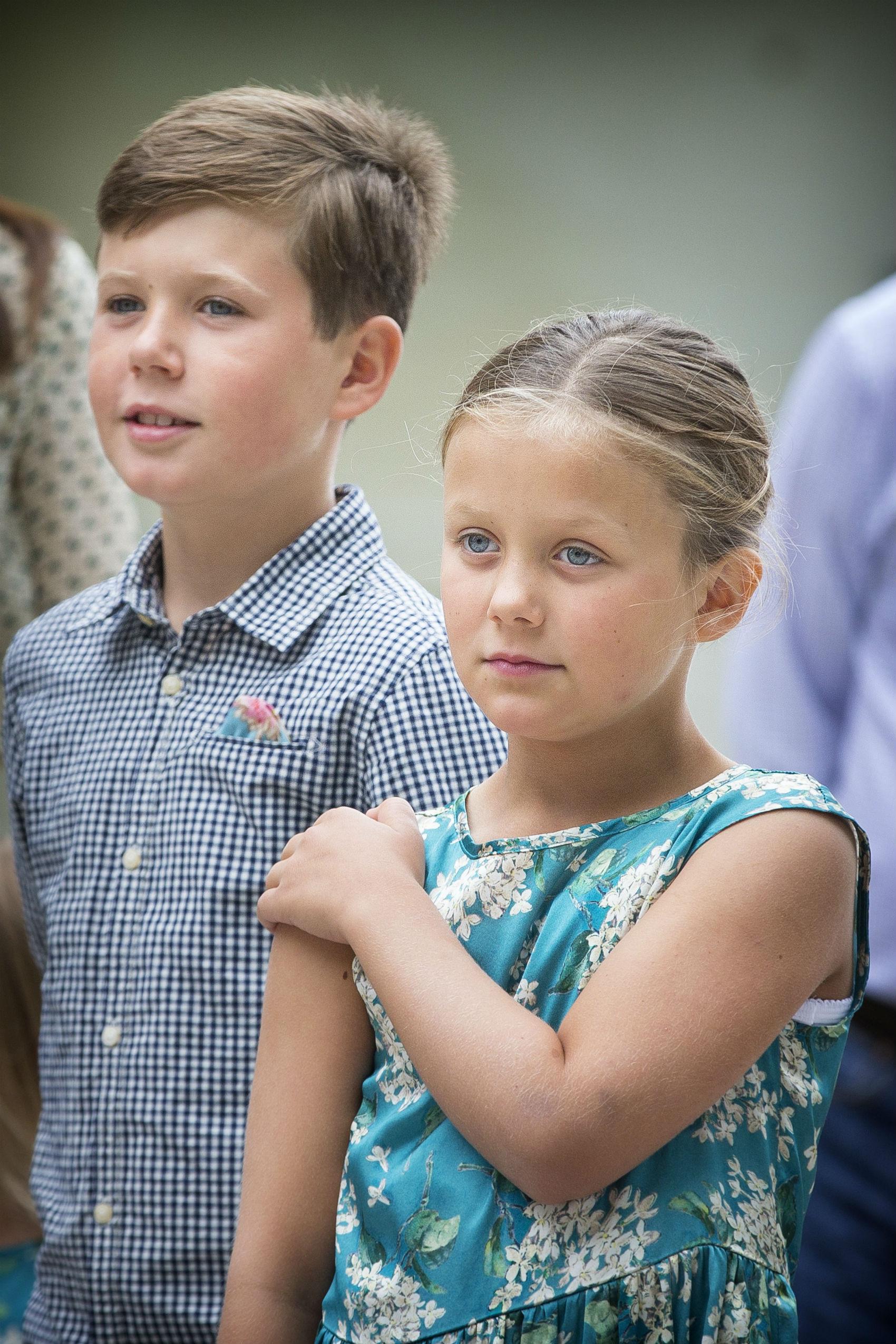 Princípes Christian e Isabella