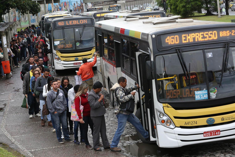 De acordo com a Secretaria de Transportes, 54% das linhas que circulam no Rio tinham mais de 50% de seus trajetos idênticos ao longo das viagens