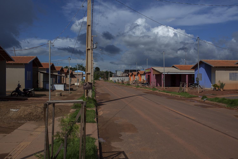 RUC (Reassentamento Urbano Coletivo) Laranjeiras, em Altamira. Ali ainda não há esgoto nem escola e as ruas não são pavimentadas