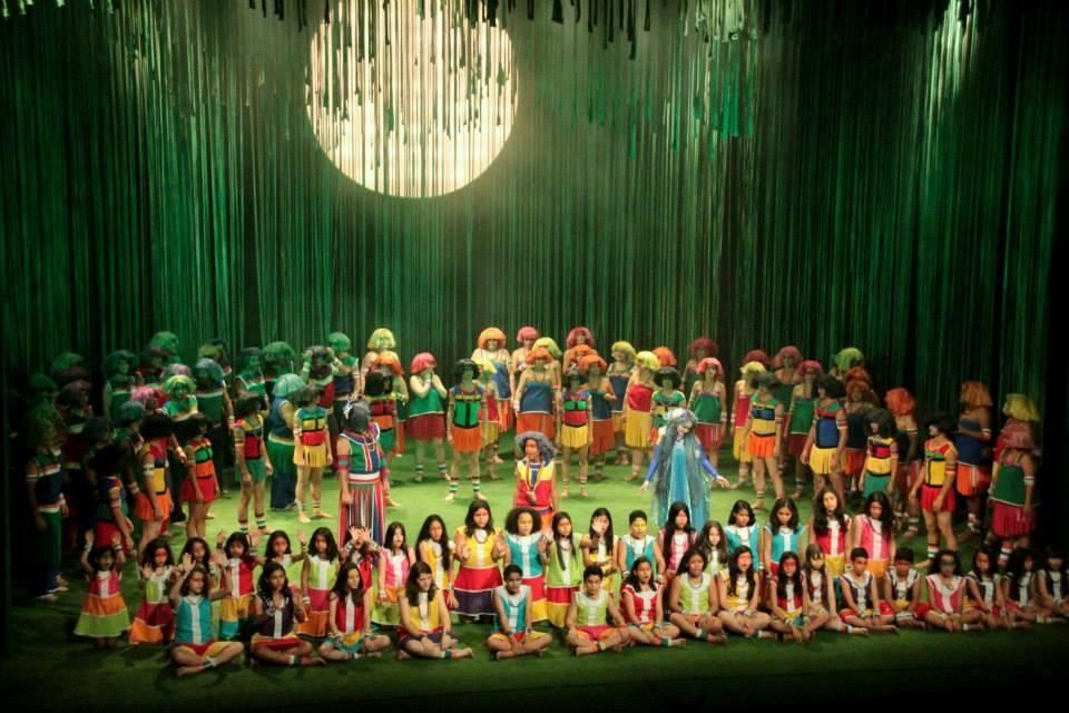 """A peça """"Onheama"""", exibida pela primeira vez, em maio de 2014, no Teatro Amazonas"""