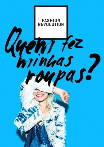 Uma das imagens da campanha do Fashion Revotion Day