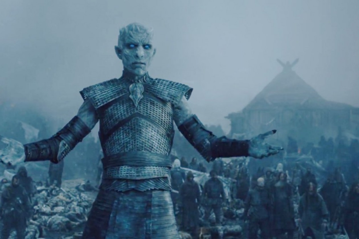 White Walker em cena da quinta temporada: o inverto está chegando