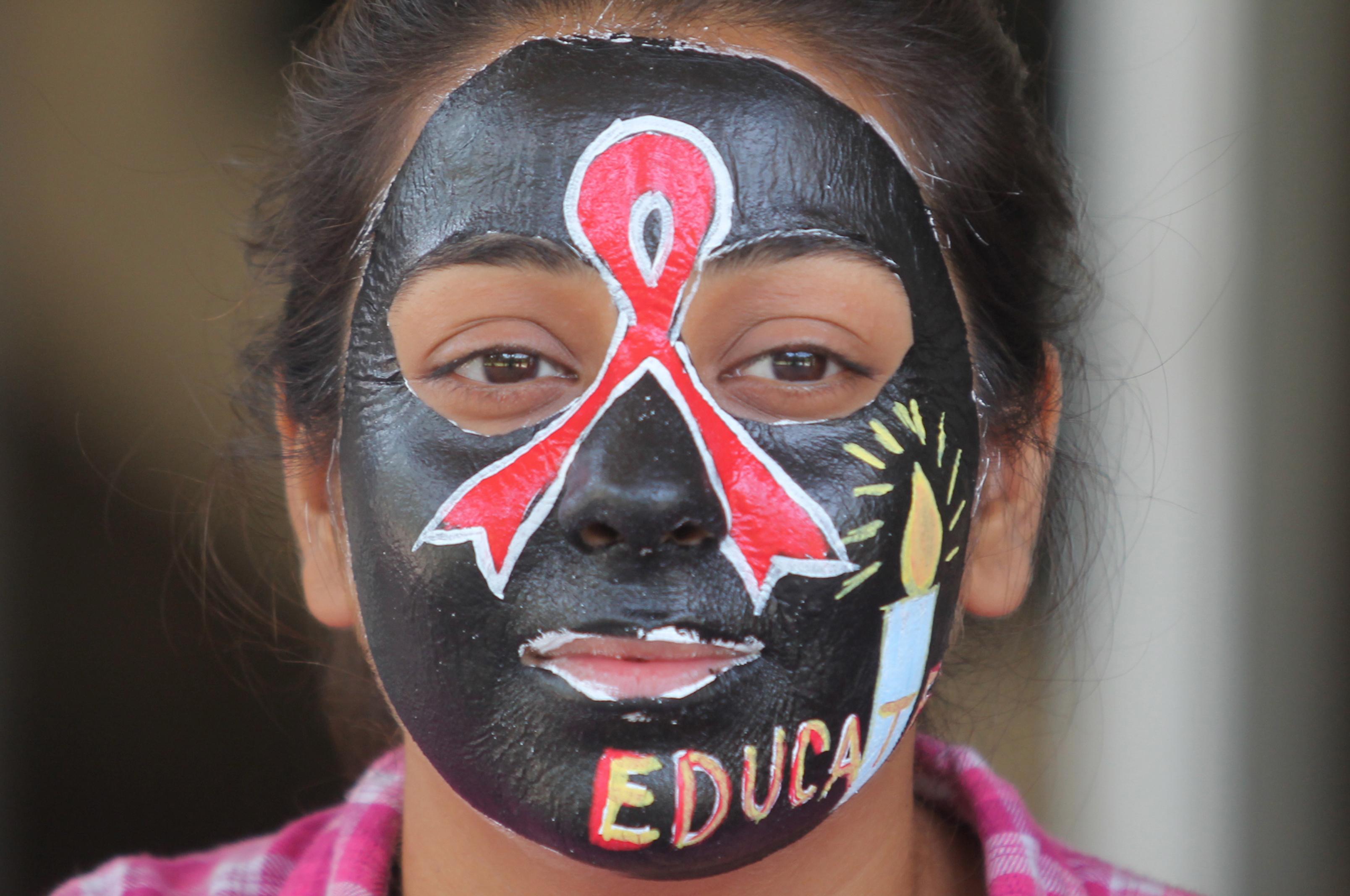 HIV/Aids campanha de educação para prevenir a doença