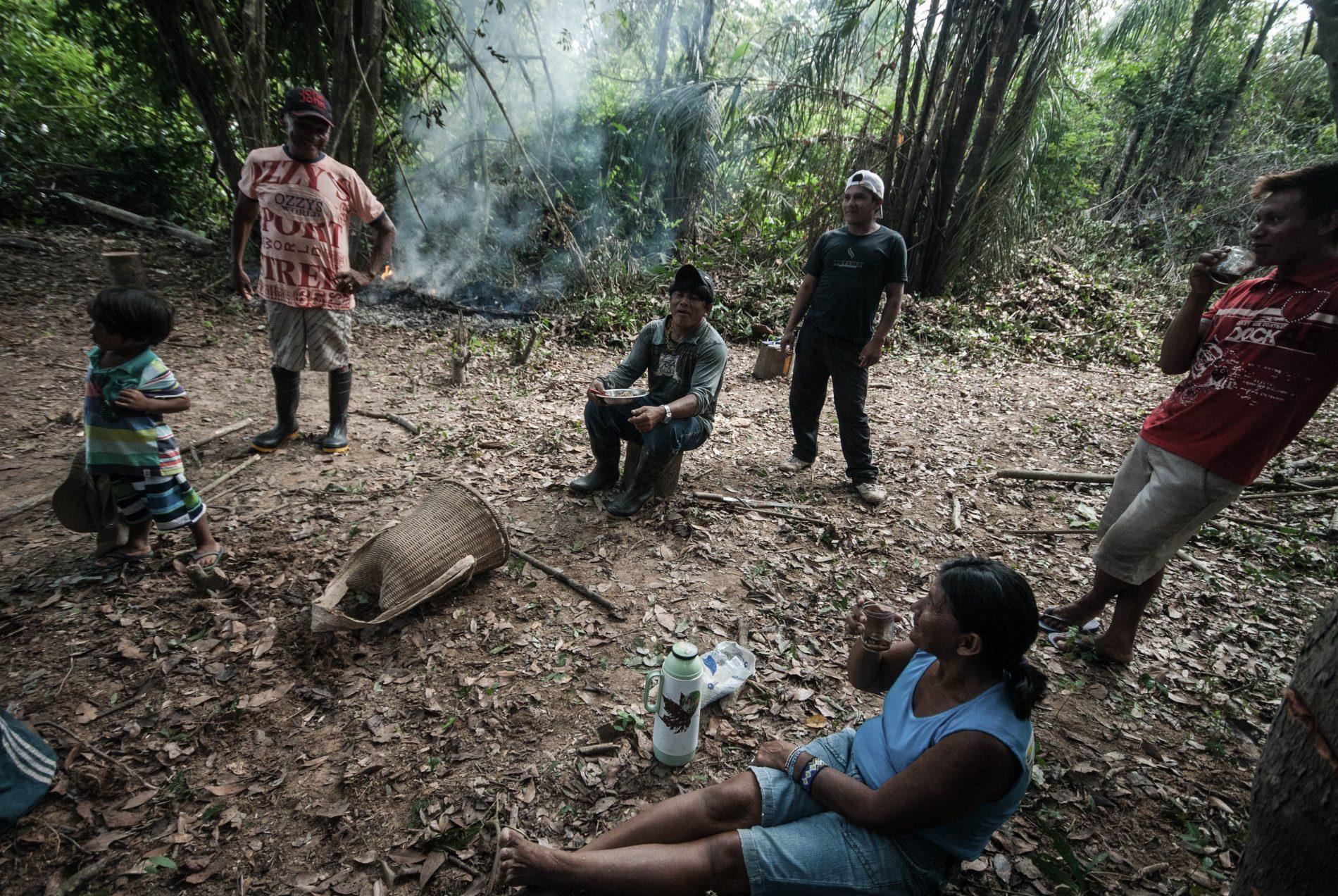 Índios Munduruku podem ter suas terras ameaçadas se forem aprovadas novas usinas no rio Tapajós