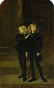 Os príncipes na Torre: Eduardo V e o duque de York - domínio público (Royal Holloway Collection)