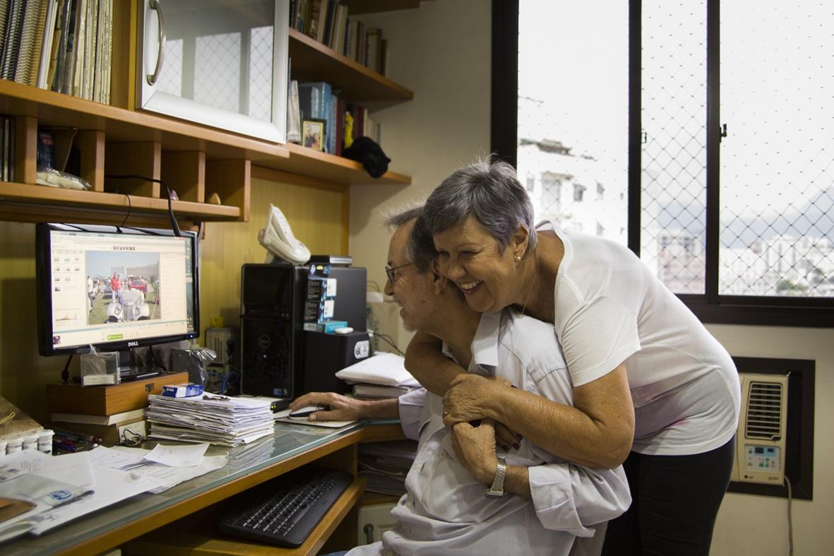 Paulo e Solange celebram a nova vida após a cura definitiva da doença