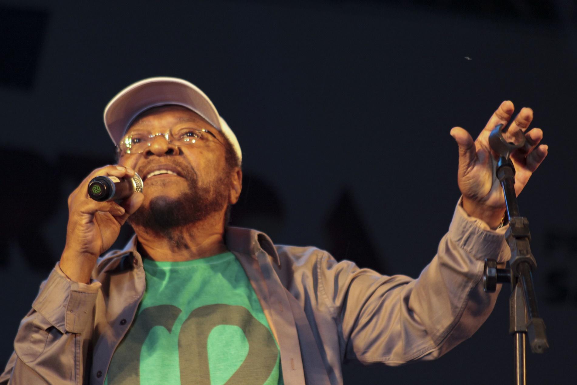 Martinho da Vila durante um show em São Paulo no início do ano. O cantor e compositor deve terminar a faculdade aos 80 anos