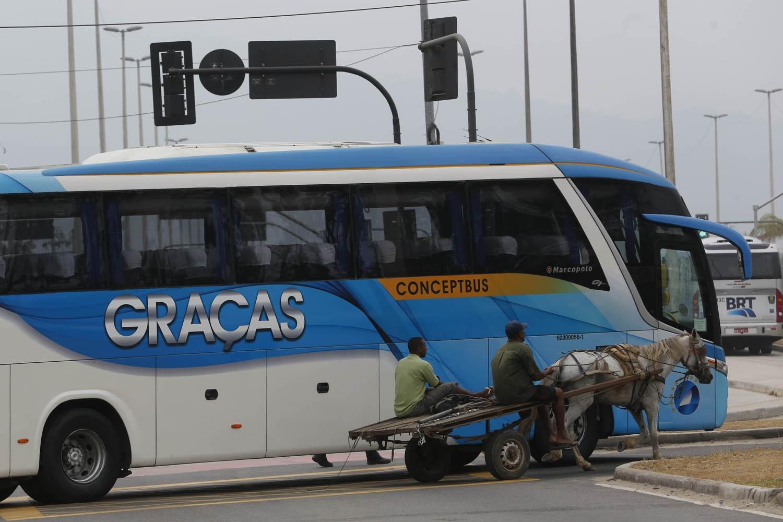 A ideia de privilegiar a circulação do transporte público está presente no sistema dos BRTs