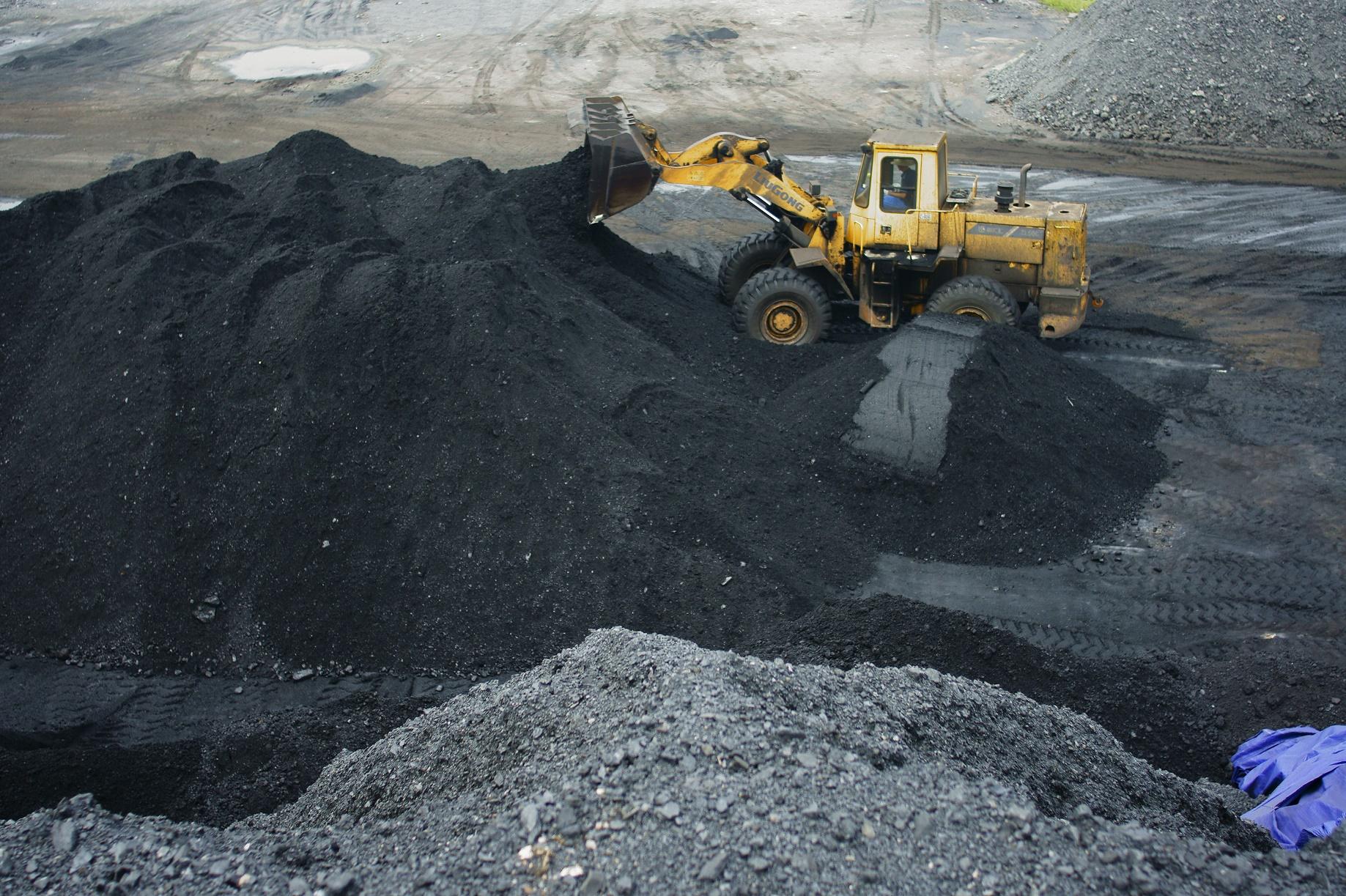 A produção massiva de carvão na China é um dos principais símbolos do impacto do homem sobre o planeta. Foto de Zhou jianping / Imaginechina