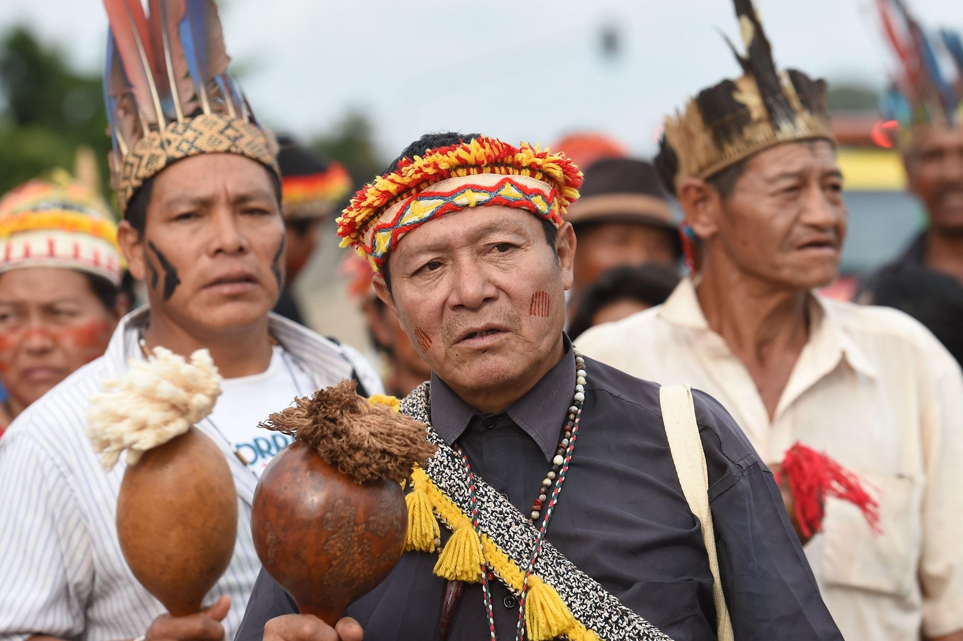 Índice de insegurança alimentar entre os Guarani Kaiowá é cinco vezes maior do que a do resto da população brasileira. Foto de Evaristo Sá/AFP