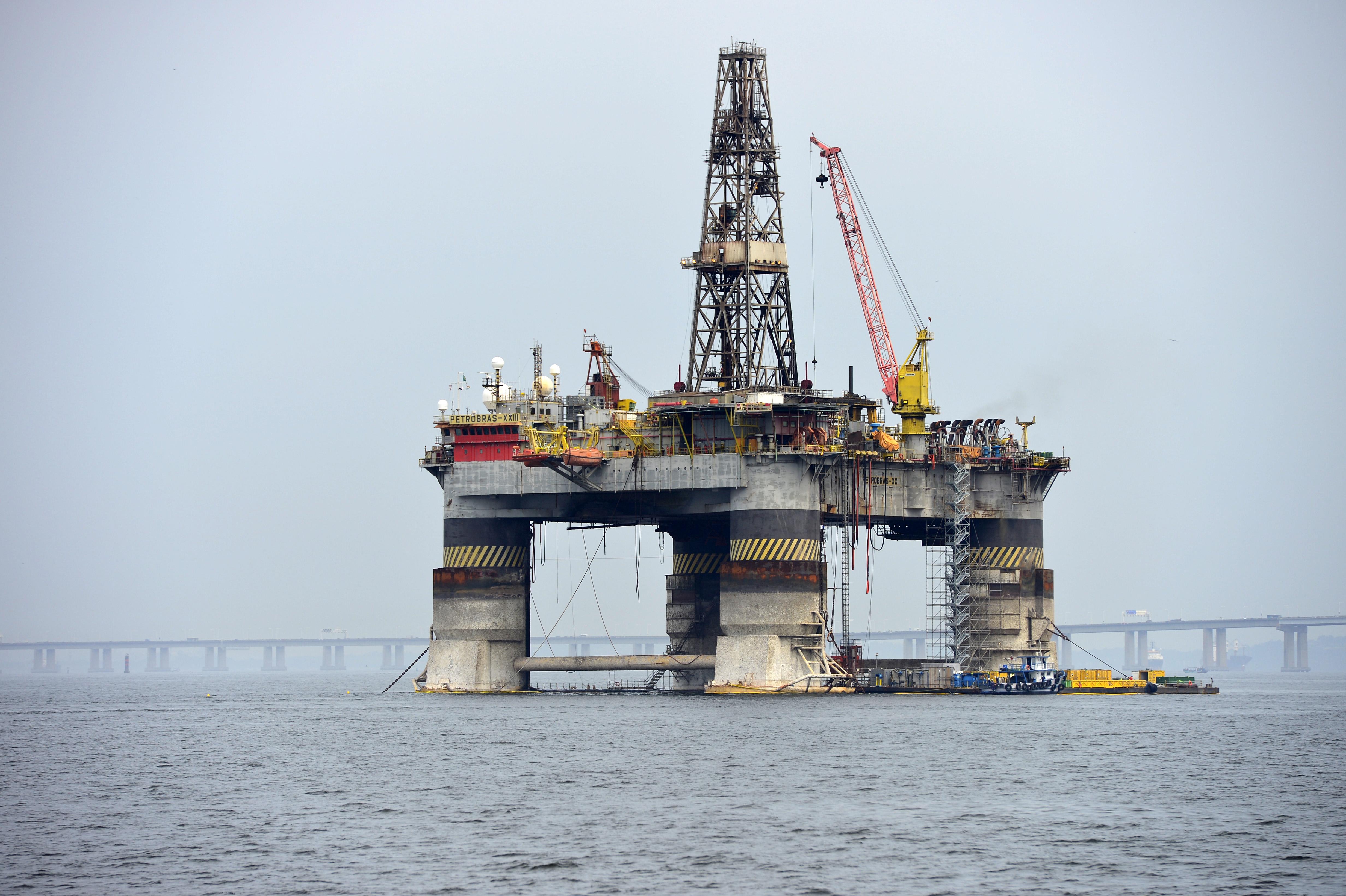 Plataforma de petróleo no Rio de Janeiro