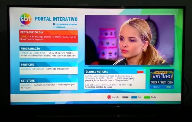 Portal interativo-Frame do portal