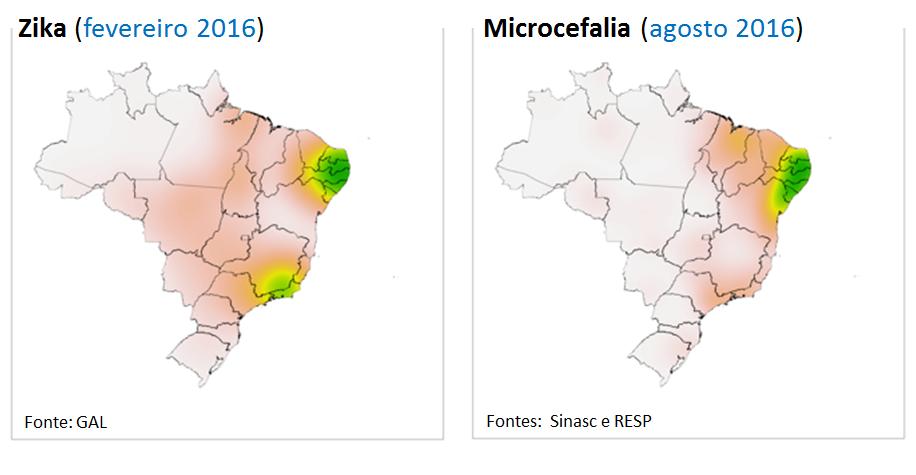 O Rio de Janeiro teve um grande surto de Zika vírus mas não passa por uma explosão de casos de microcefalia neste momento, como seria esperado.