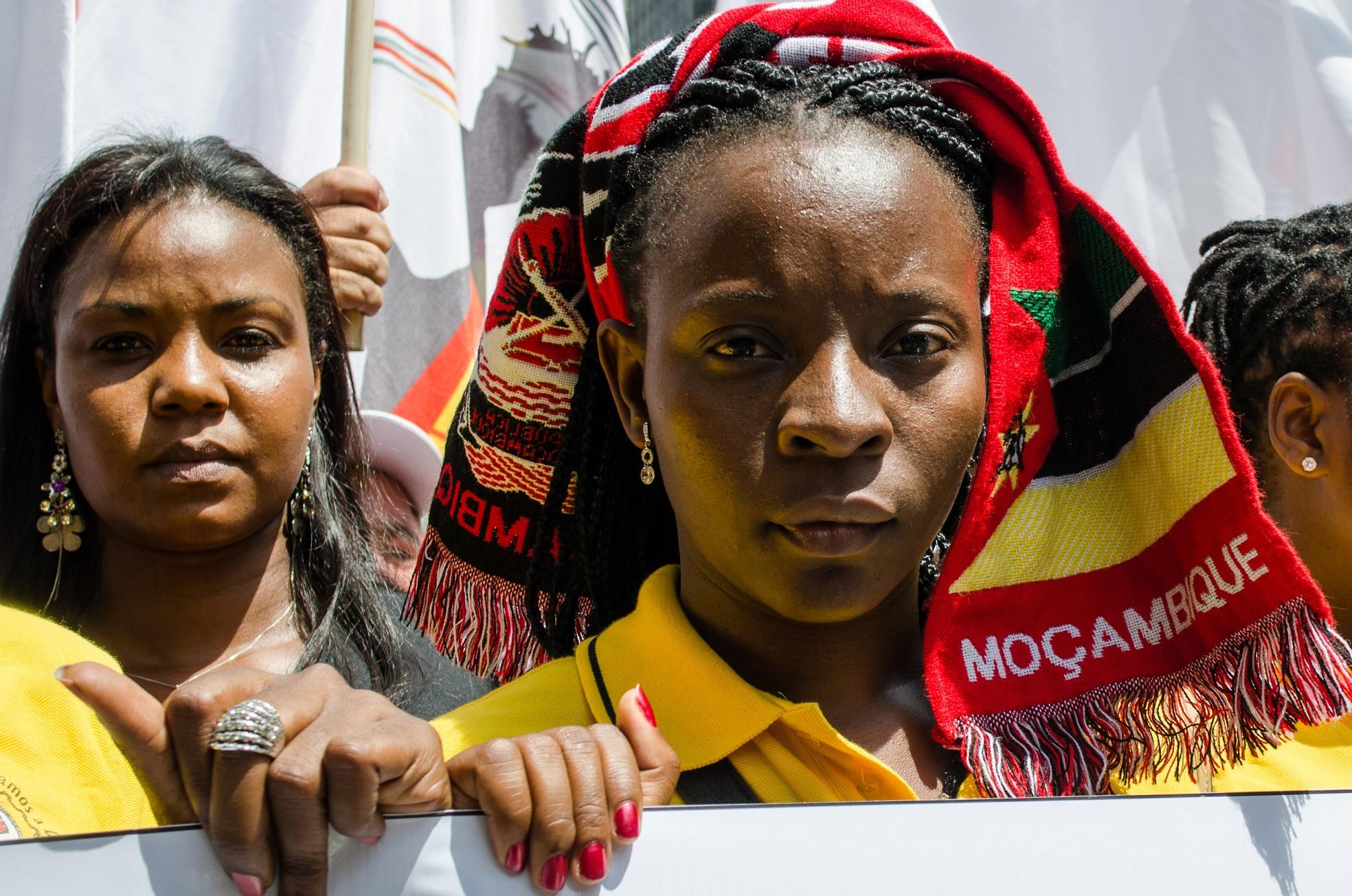 Se saldo positivo há, ele é traduzido na disposição para a luta das jovens feministas negras, incansáveis e barulhentas. Foto de Alexandre Moreira/Brazil Photo Press
