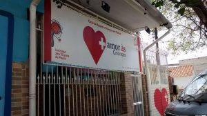 Sede da ONG Crianca com cancer. Foto de Divulgacao