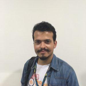 Diego Oliveira e seu bigode no estilo Dali. Foto Divulgação