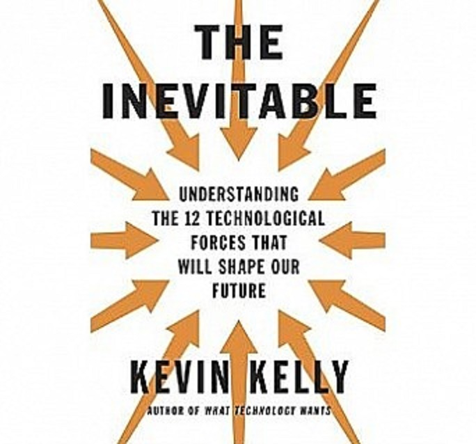 A capa do novo livro de Kevin Kelly, fundador da revista Wired