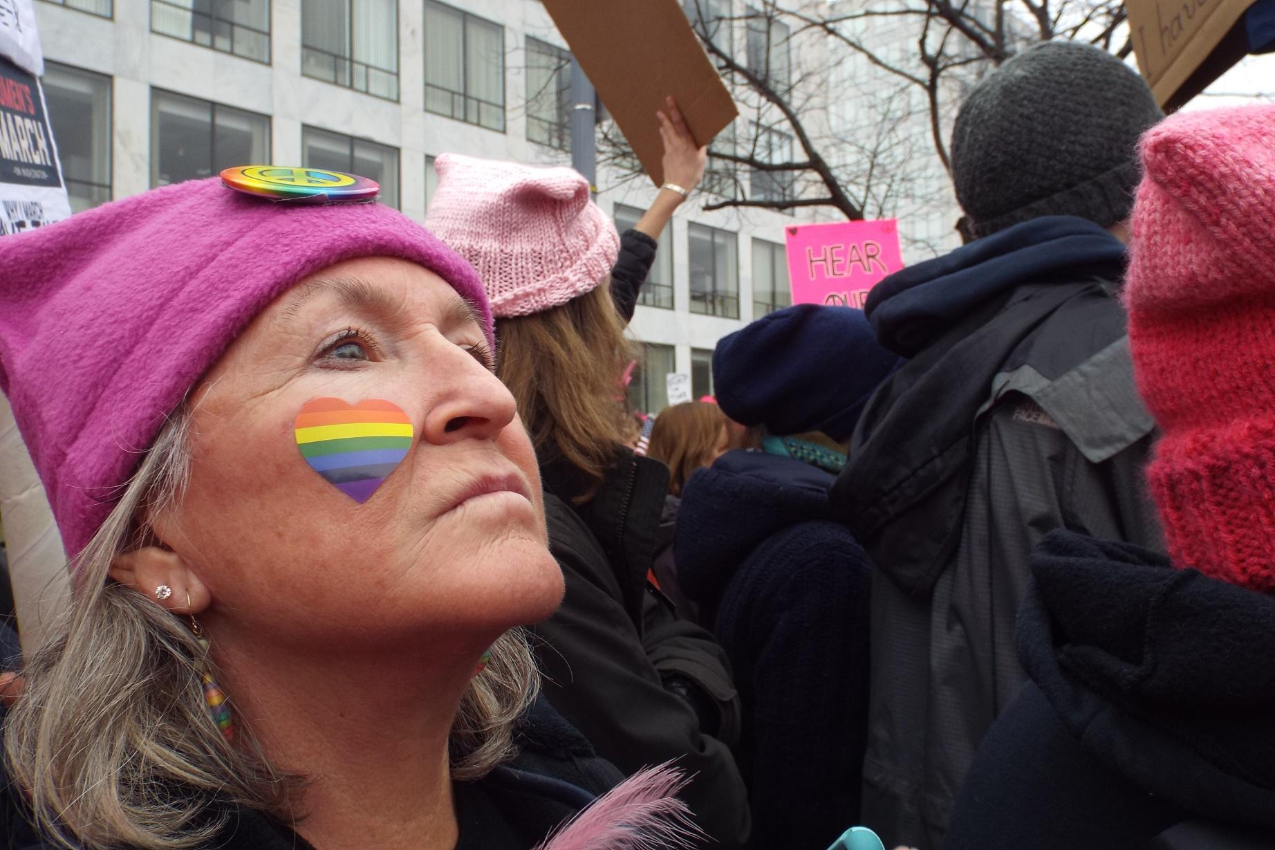 Cerca de 2,5 milhões de pessoas marcharam no mundo todo em protesto contra as ameaças do governo Trump. Foto de Manuela Andreoni