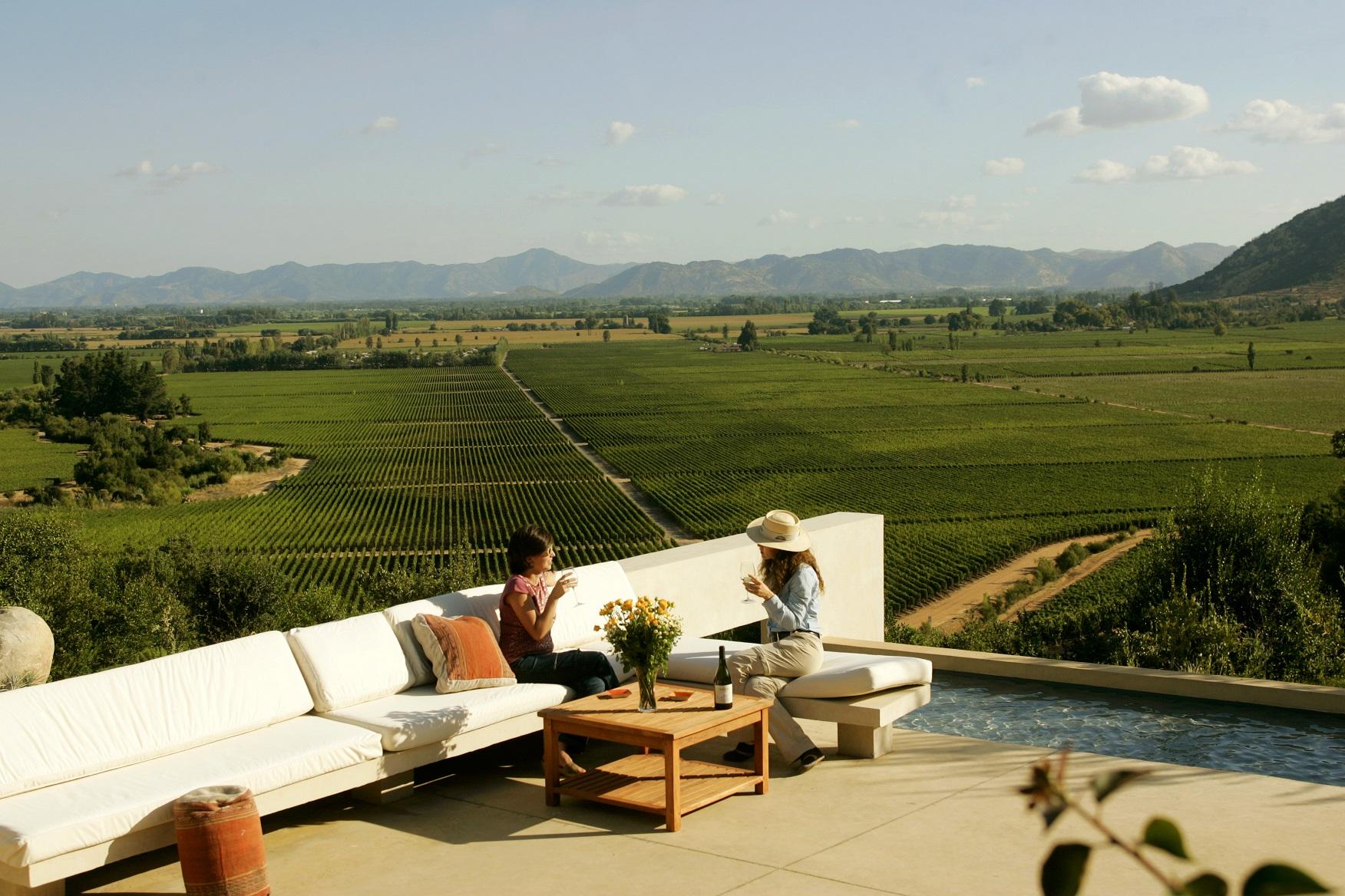A moderna propriedade Clos Apalta, uma das três da Viña Lapostolle, tem vinhedos orgânicos com manejo biodinâmico devidamente certificados. Foto Divulgação