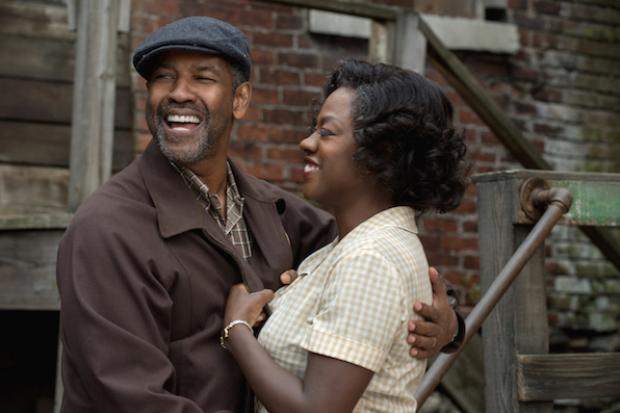 """Denzel e Viola em """"Cercas"""": ambos foram indicados ao Oscar 2017 (Foto de divulgação)"""