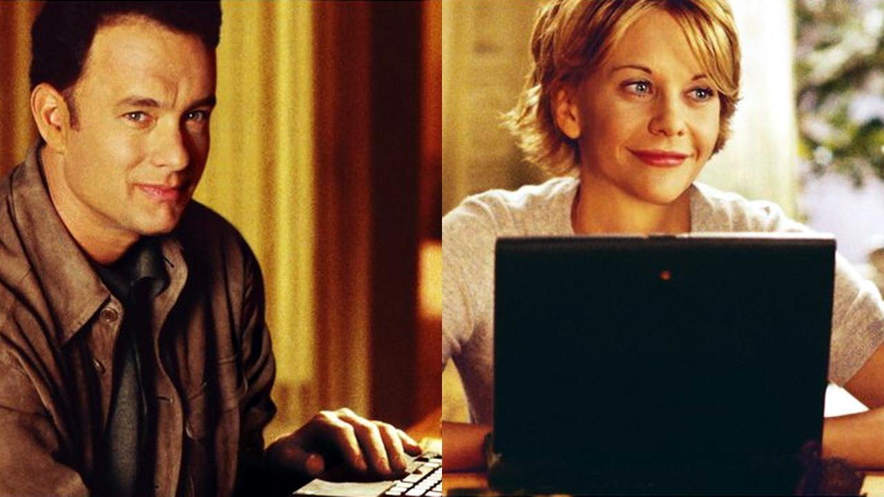 """O filme """"Mens@agem para você"""", de 1998, um símbolo do auge da comunicação via e-mail"""