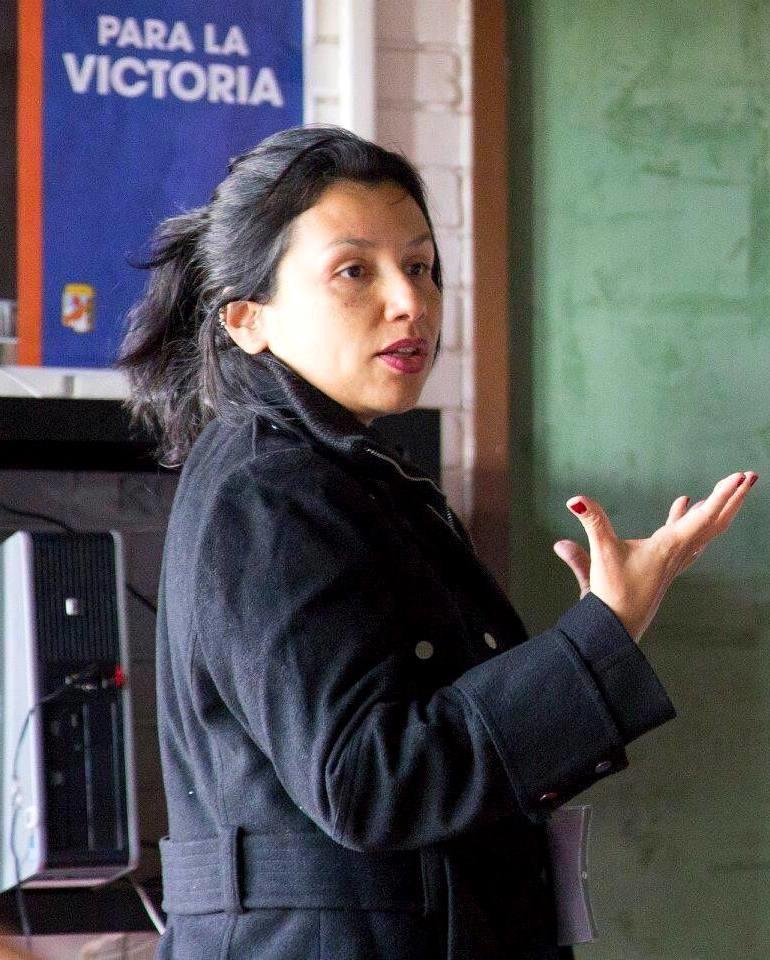 Christina Vital é professora e pesquisadora do Departamento de Sociologia da UFF. Foto Arthur Custódio