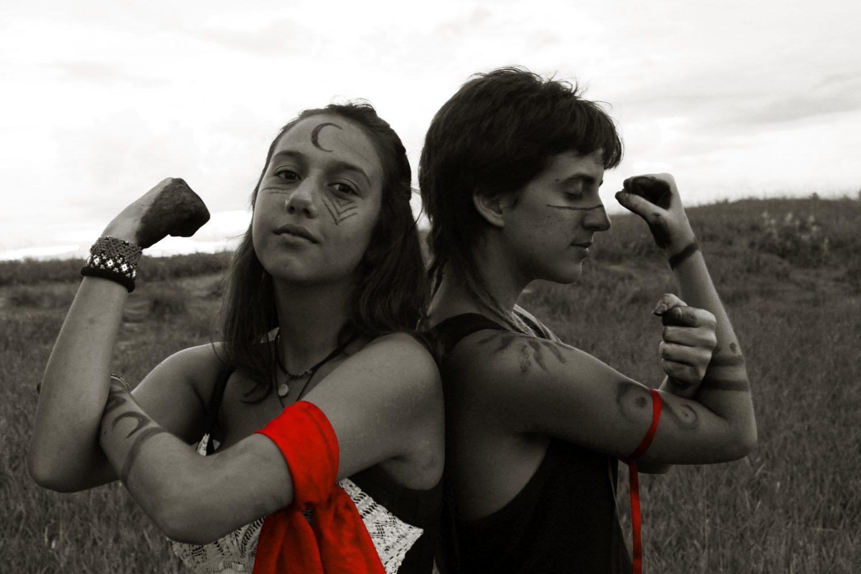 A campanha #minasdevermelho: contra o assédio no carnaval (Foto de divulgação)