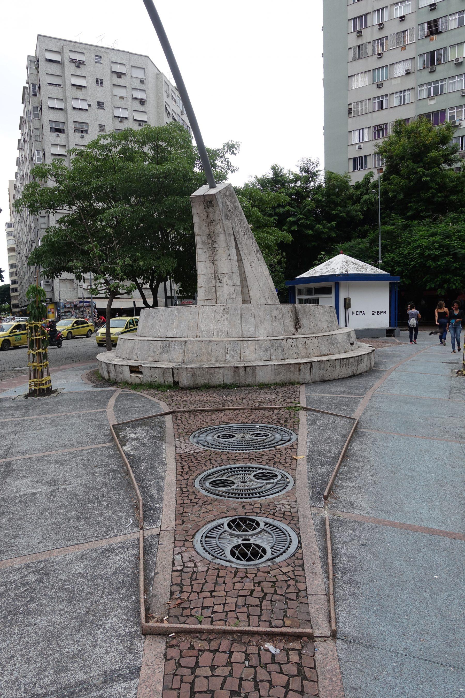 Monumento ao Rio Carioca., no livro Rio Secreto. Foto de Thomas Jonglez