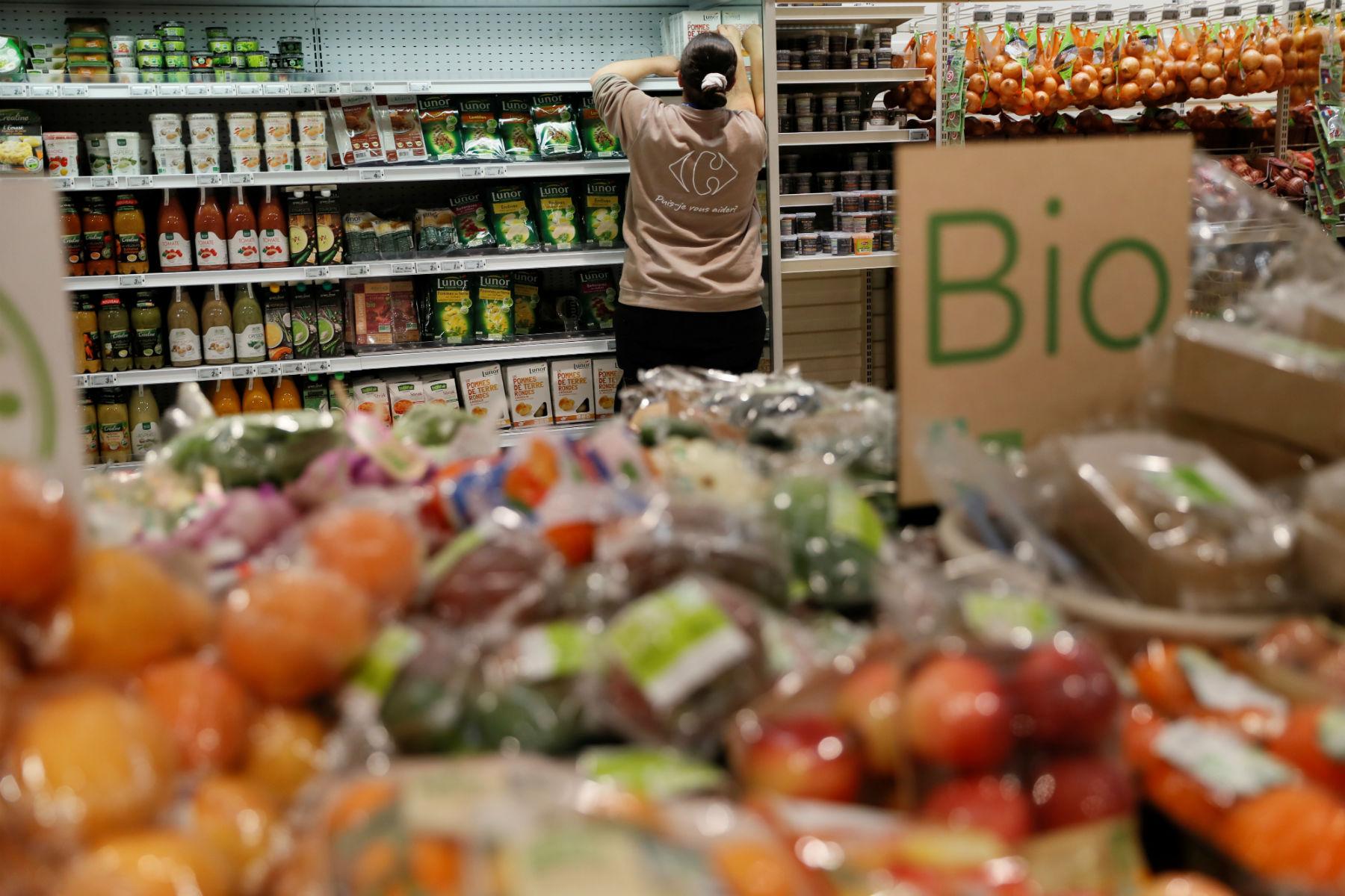 Organicos. Foto de Thomas Samson/ AFP