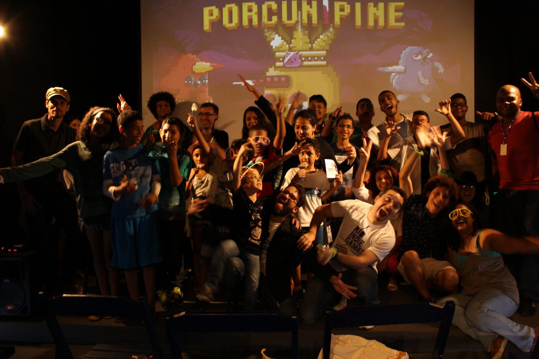 Batalha de Games II, da ONG Nosso Cinema. Foto de Divulgacao