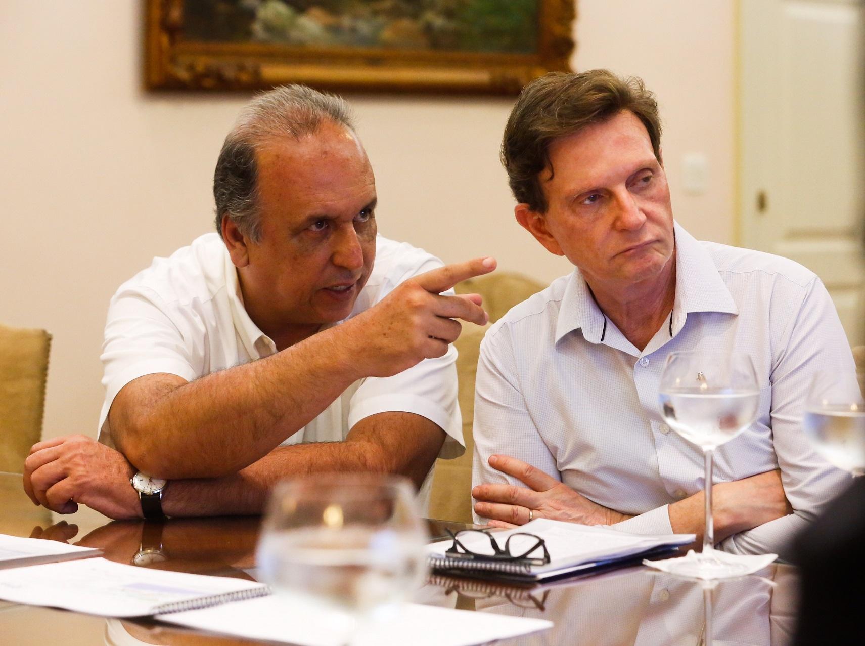 A intenção de Pezão e Crivella é de que as obras do metrõ comecem ainda este ano. Foto Shana Reis/Governo do Estado