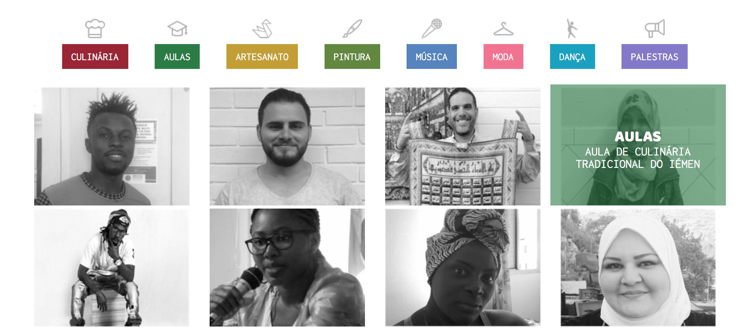 Site do Conectados. Foto de Divulgacao