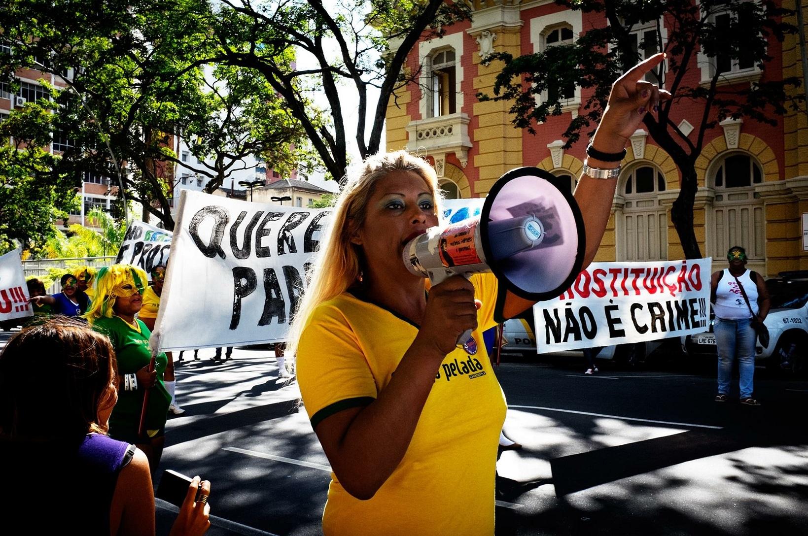 Indianara Siqueira, suplente de vereadora pelo Partido Socialismo e Liberdade e ativista em defesa da visibilidade e cidadania trans. Foto de divulgação