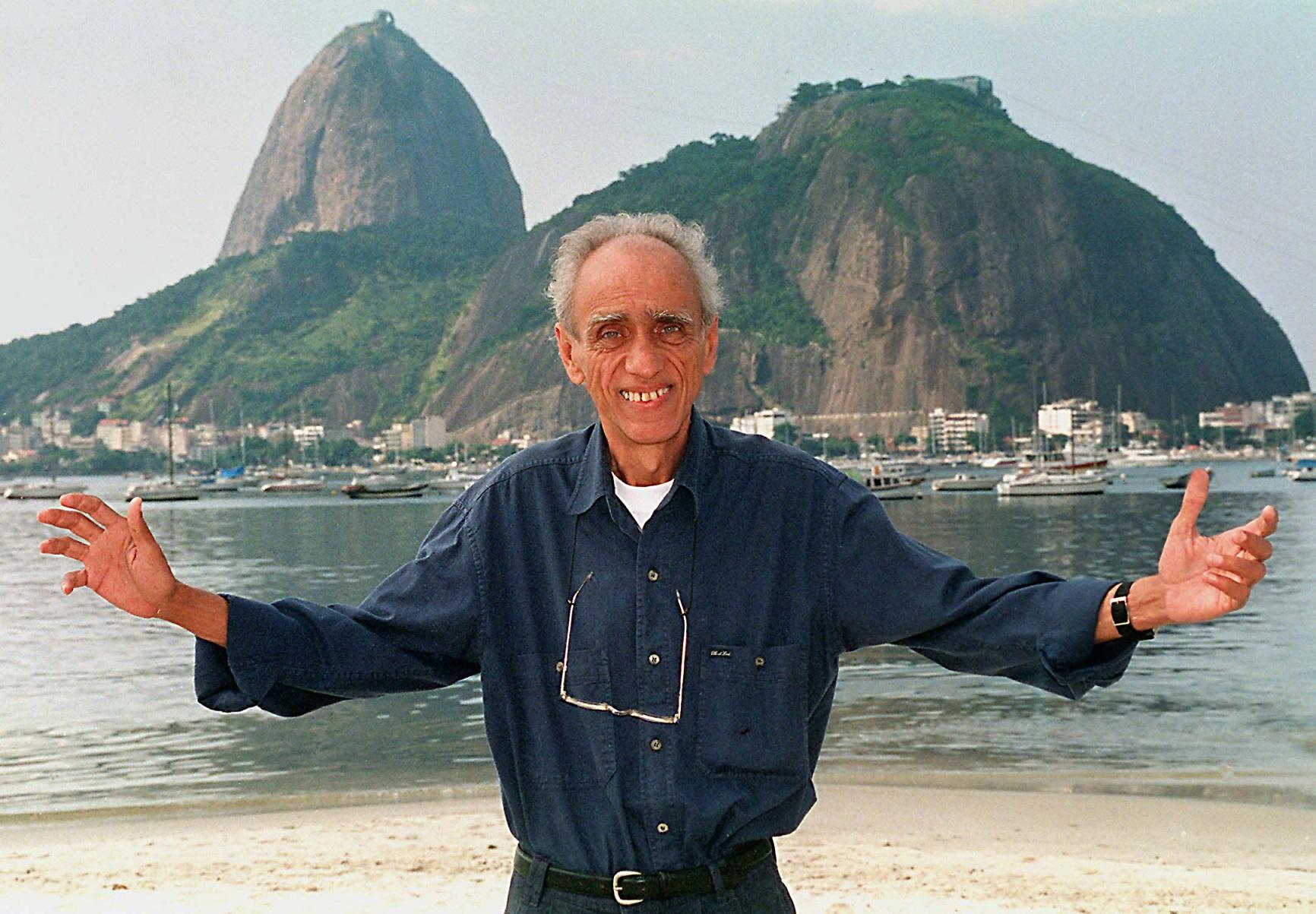 O sociólogo Herbert de Souza, o Betinho, criador da Ação da Cidadania contra a Miséria e a Fome. Foto Vanderlei Almeida/AFP