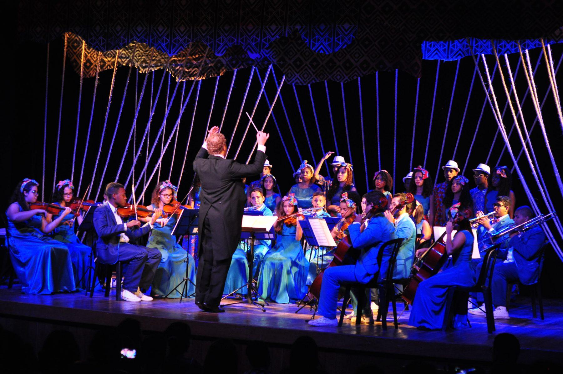 Orquestra Nova Sintonia. Foto de Divulgacao