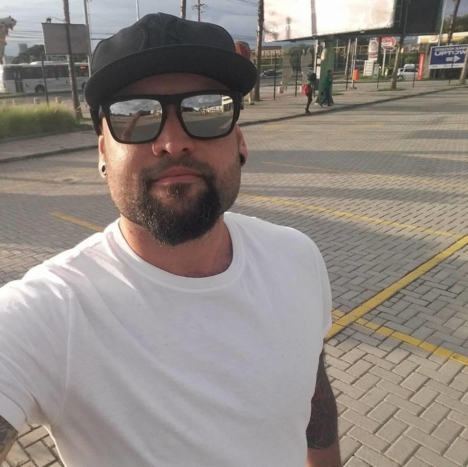 Vitor Almeida, estudante de história e criador do Suburbano da Depressão. Foto divulgação
