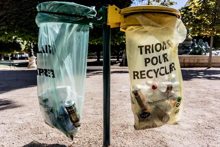 Embalagens só viram lixo se não forem descartadas corretamente (Foto AFP / GARO/PHANIE)