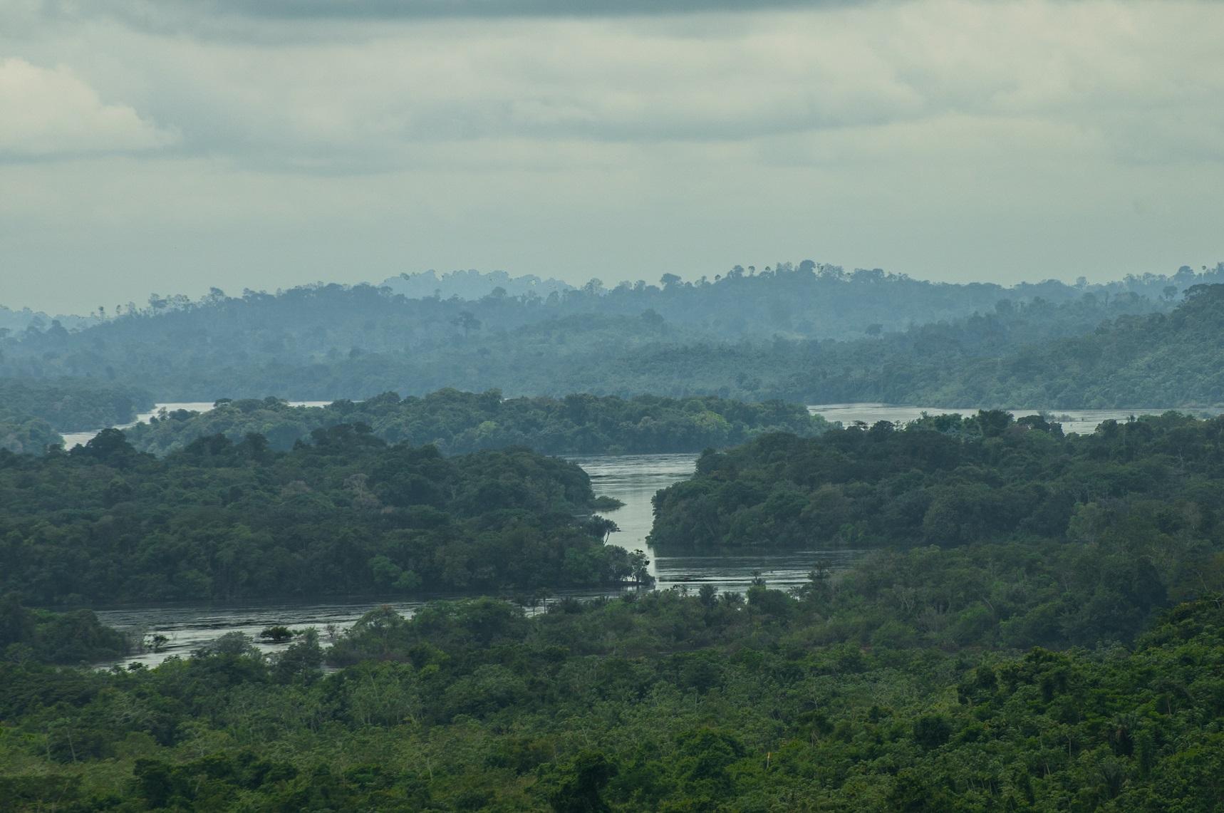 A perder de vista: é gigantesca a área de propriedade da mineradora Belo Sun (Foto André Teixeira)