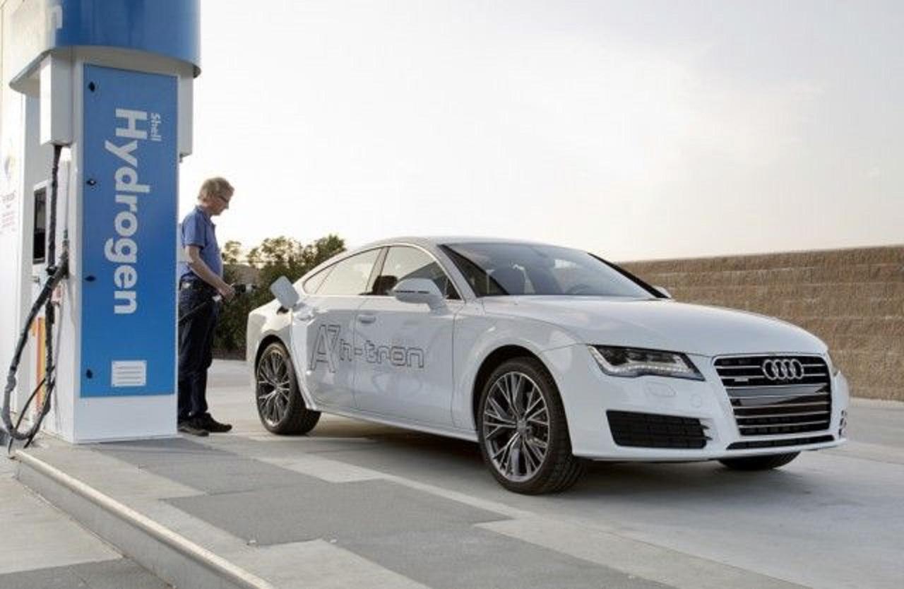 Protótipo do Audi, que está sendo desenvolvido na Alemanha. Divulgação
