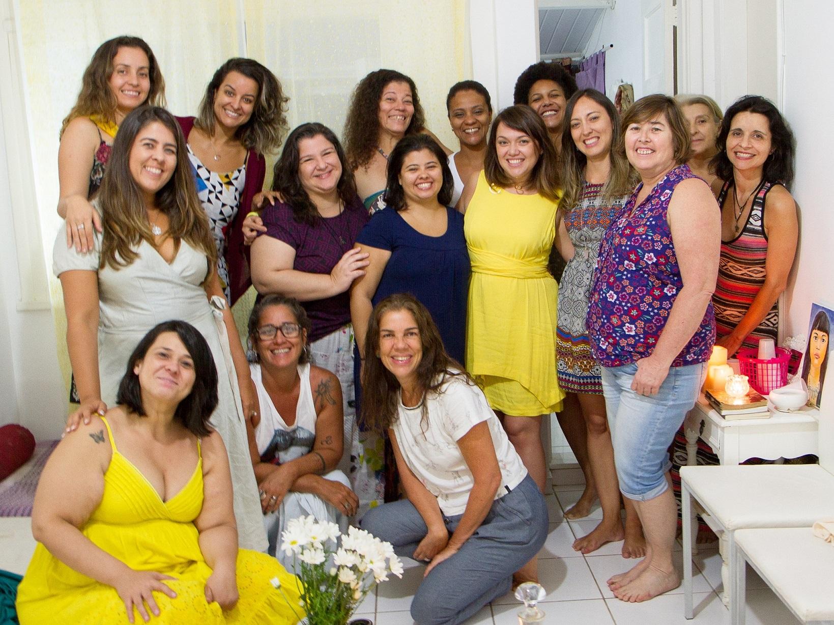 O Deusas, Loucas, Feiticeiras nasceu em 2014 e já tem mais de 300 participantes. Foto Kamille Viola