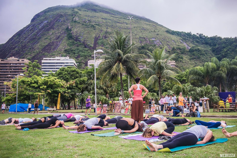 Ioga, música e dança estão entre as atividades que vão acontecer no Parque Lage. Foto Divulgação