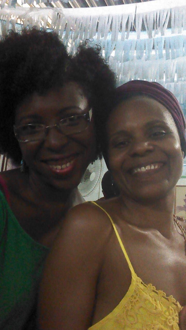 Nany e Janaína criaram um espaço para discutir as questões das mulheres negras. Foto Kamille Viola